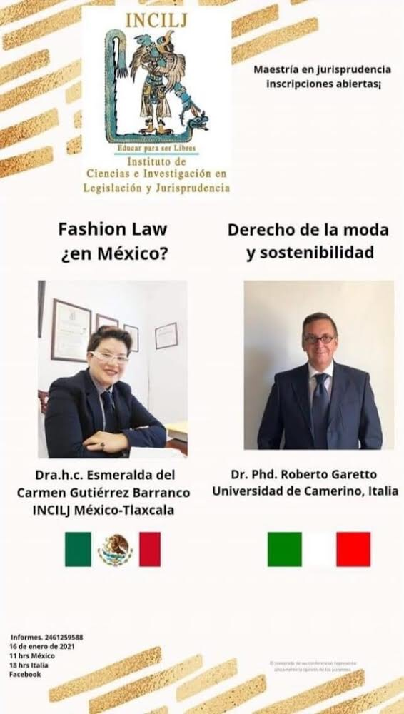 Dr. Roberto Garetto – Fashion Law – INCIJL México